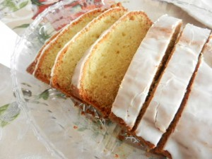 Irish Tea Cake with Lemon Glaze