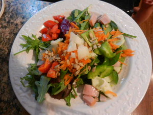 The salad we had this week for dinner